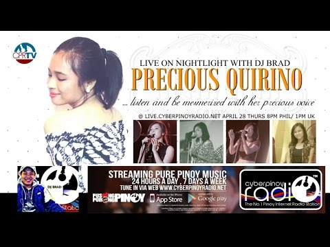 PRECIOUS QUIRINO and ZY SALUD LIVE INTERVIEW ONLY PART 1of2