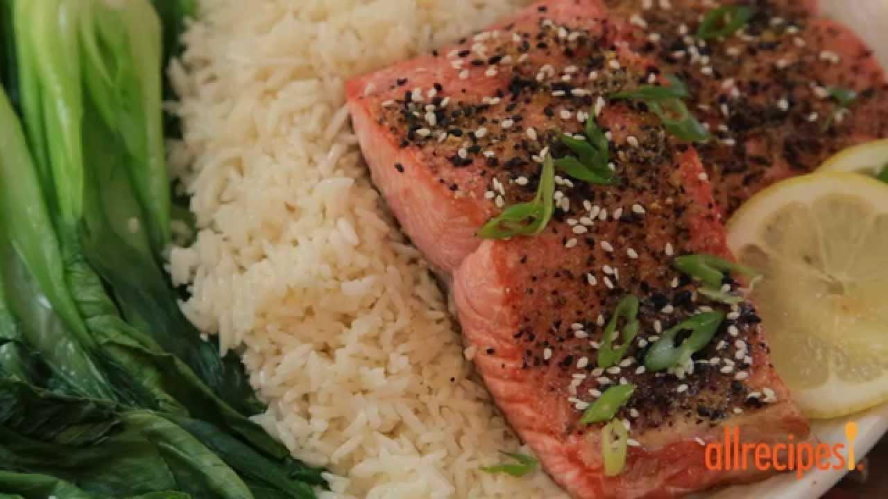 Salmon Recipes  How To Make Lemon Pepper Salmon Ii