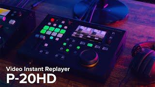 Présentation du lecteur vidéo instantané Roland P-20HD