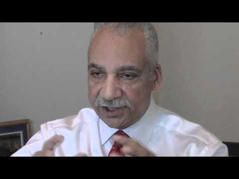 Deputy Mayor Saul Green speaks to The Detroit News