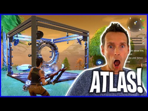 Defending the ATLAS in Fortnite Save The World Co-Op PvE