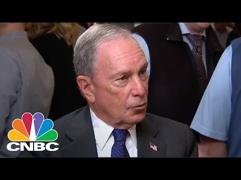 Mike Bloomberg Takes On President Donald Trump Over Climate Change | CNBC