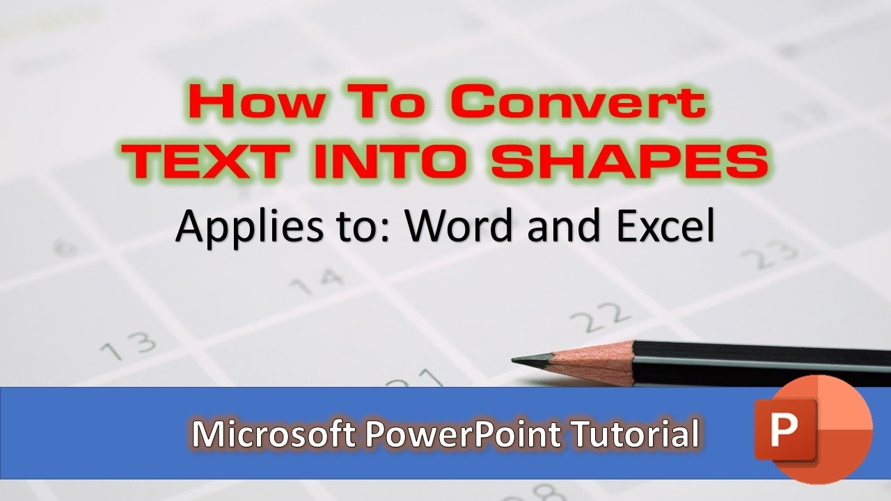 How to Convert WordArt Text into Objects / Shapes in Microsoft Office 2016