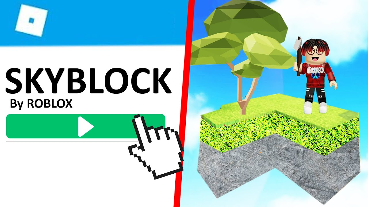 Getting Started In Roblox Skyblock Youtube