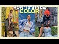 HOW TO PUT OUTFITS TOGETHER Ep 2: Styling Color