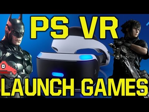 PlayStation VR Launch Games Review  - PS VR Launch titles takeaways (PS VR Games)