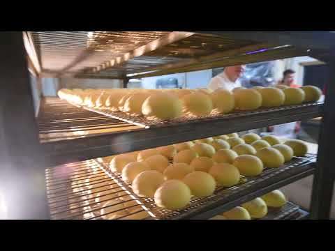 Paczki making at European Bakery in Jackson