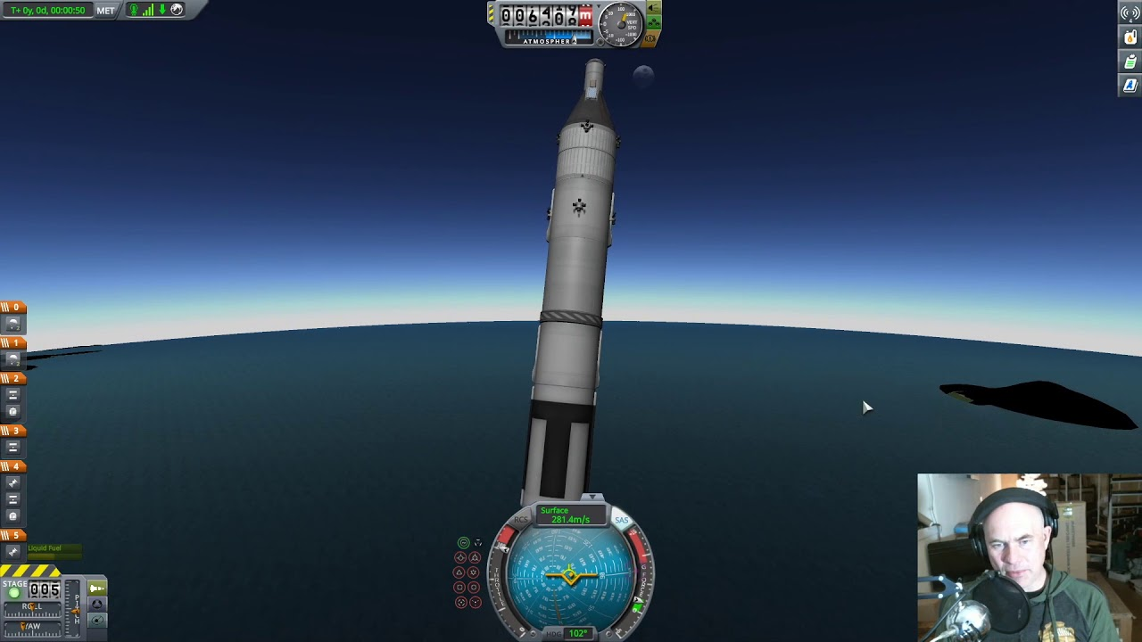 Gemini Space Program >> Gemini Atlas Agena Rendezvous Docking Kerbal Space Program