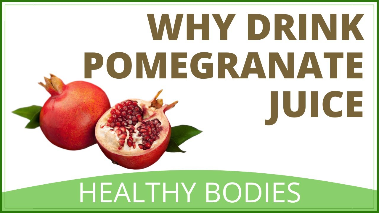 health benefits of drinking pomegranate juice