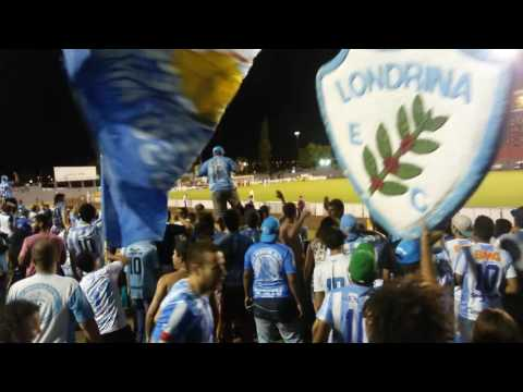 Festa da Torcida Londrina 3x0 Oeste 01/10 - Série B