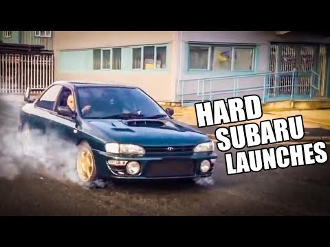 23 HARD Subaru Launches