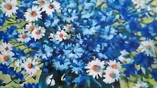 Моя работа. Закончила#живопись#цветы#натюрморт#картина