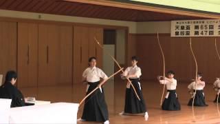【弓道_21】 皇后盃 第47回 全日本女子弓道選手権大会 得点上位者3名の射 【kyudo】