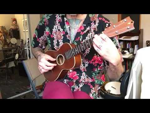 Vintage WASHBURN Lyon And Healy 5350 Concert Ukulele On Reverb, Ukulelezaza Demo