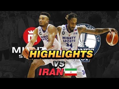HIGHLIGHTS: Mighty Sports Philippines vs. Iran (VIDEO) Jones Cup 2019