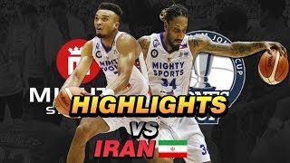 "MIGHTY SPORTS PHILIPPINES ""OFFENSE"" HIGHLIGHT vs IRAN 