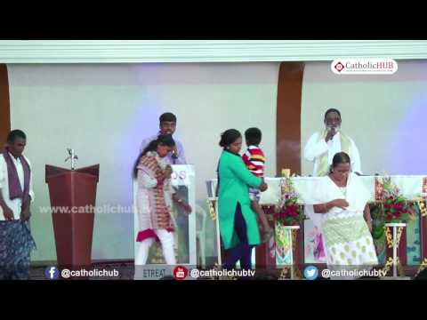 Word of God (Rev.Fr. Mathew Naickomparambil VC) @ Logos Retreat Centre, Bangalore, 21 04 17
