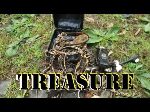 TREASURE found Magnet Fishing