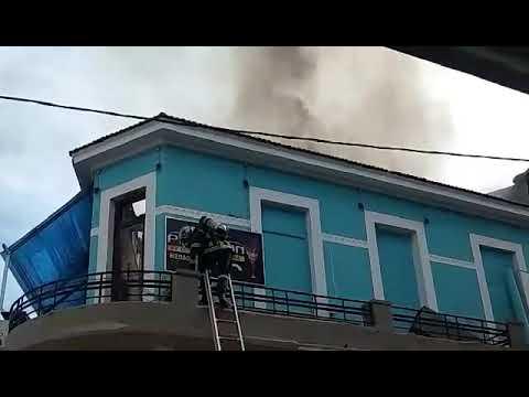 Φωτιά σε καφετέρια στο κέντρο των Χανίων (ΙΙ)