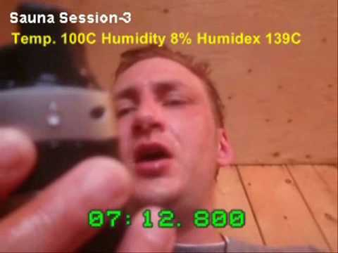 Sauna Record - Highest Heart Rate achived in a Sauna 188 BPM (98% of Max HR)