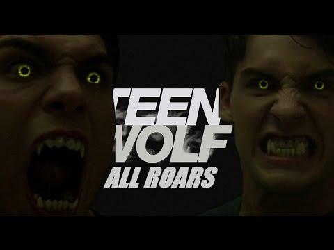 All Roars in Teen Wolf | Season 1 - 6A