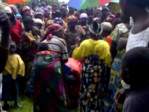 Dancing in Kahungu DR Congo