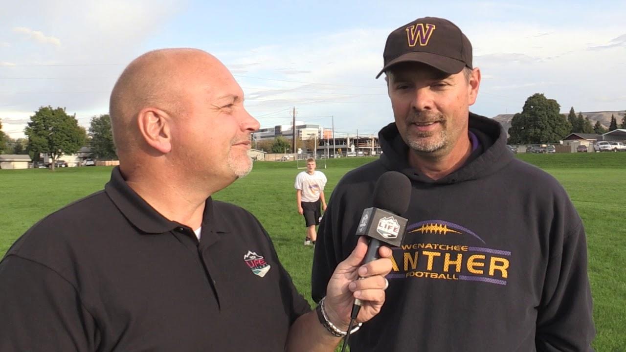 Wenatchee Coach Scott Devereaux on Mt  Boucherie 2019-09-19