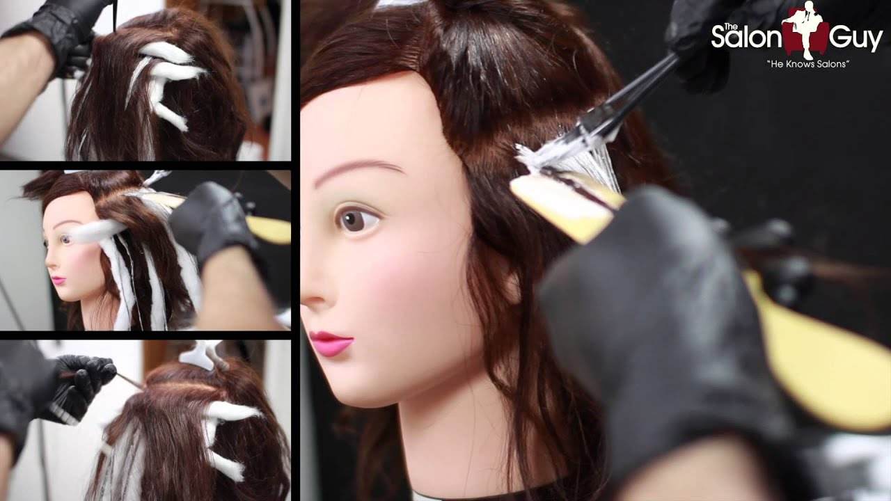 Balayage hair color technique demo youtube solutioingenieria Images
