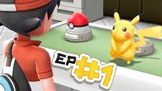 Pokémon Let's Go Pikachu Let's Play - Episode #1