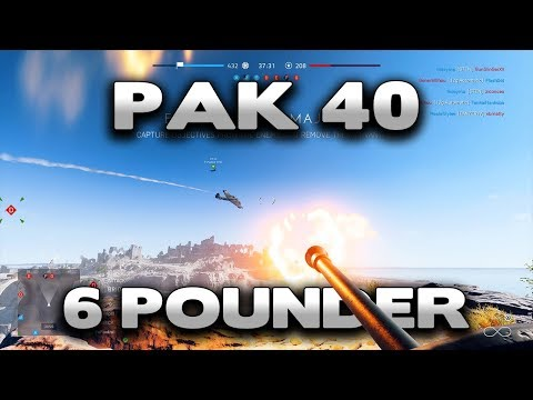Battlefield 5 PAK 40 + 6 Pounder Gameplay thumbnail