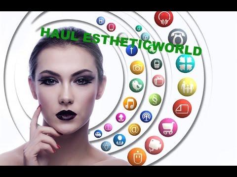Haul Estheticworld (fiera dell'estetica a Milano)