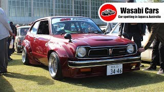 2018 Nishi-Nihon Old Car Festival - Old School JDM Classic Cars