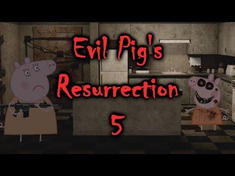 ScareTube Poop: Evil Pig's Resurrection 5 Revelations [Peppa Pig Parody] (NOT FOR KIDS)