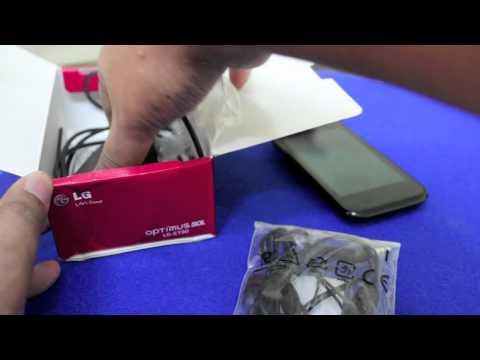 LG Optimus Sol Unboxing