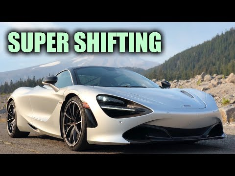 McLaren 720S changes gears so fast data logger can't keep up