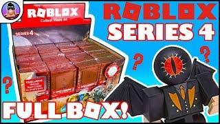 ROBLOX série 4 Mystery Box Opening! | Box inteiro para abrir! | Virtual item & Toy Review