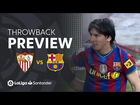 Throwback Preview: Sevilla FC Vs FC Barcelona (2-3)