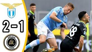 Лацио Специя 2 1 Обзор Матча Чемпионата Италии 03 04 2021 HD