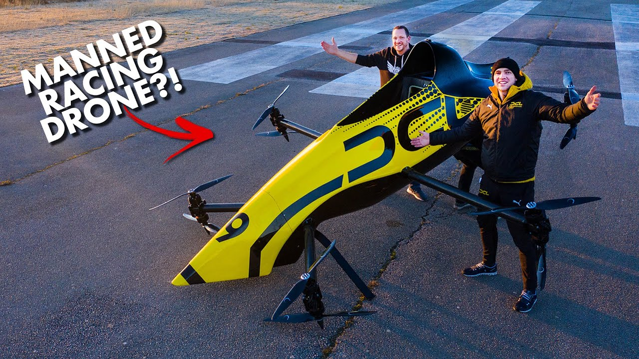 Download First Manned Aerobatic RACING Drone - Will it FLIP? 😲