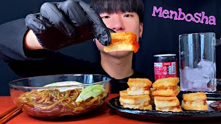 🍤Menbosha(a.k.a Fried Shrimp Sandwich) with Black Bean Noodle MUKBANG │Eating Show │멘보샤 짜장면 먹방