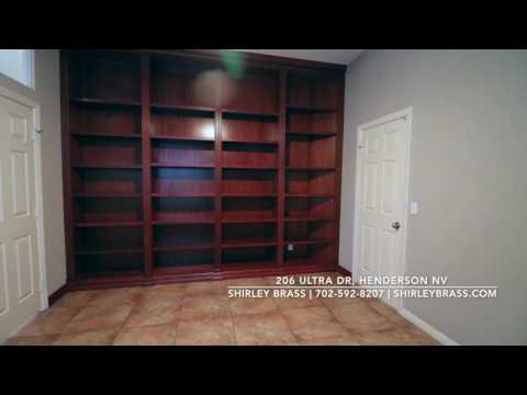 Branded 206 Ultra Dr, Henderson Nevada home tour