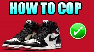 How To Get The Jordan 1 NOT FOR RESALE | Not For Resale Jordan 1 Release Info