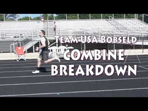 Team USA Bobsled Combine Breakdown