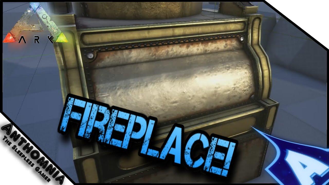 ARK Dev Kit Preview | Fireplace | ARK Survival Evolved - YouTube