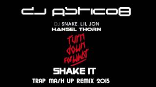 Dj Snake & Lil Jon & Hansel Thorn - Turn Down For What  & Shake It (Dj Astic08 Mash Up Remix)