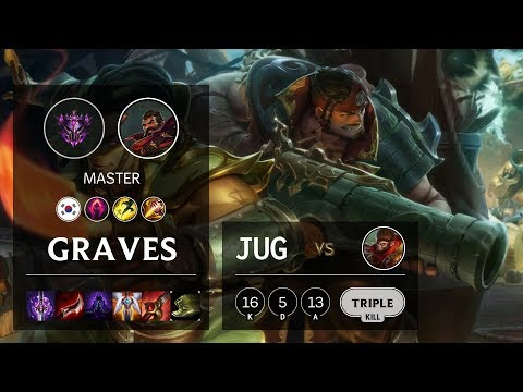 Graves Jungle vs Wukong - KR Master Patch 10.11