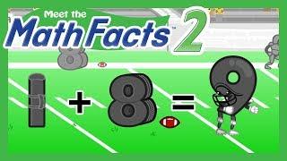 Meet the Math Facts Level 2 - 1+8=9