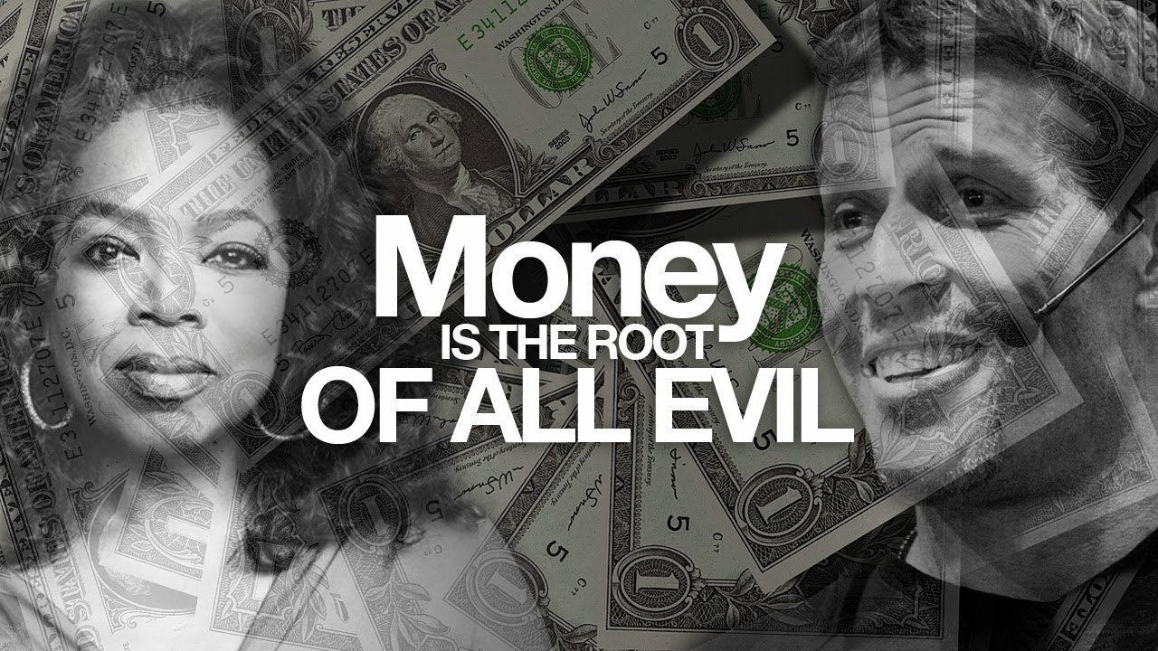 money is the root of all Is money the root of all evil when we look closely in the bible, we'll see that this  is a misunderstanding, and money is not the root of all evil.