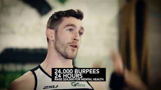 24,000 Burpees in 24 Hours: Guinness World Record Attempt