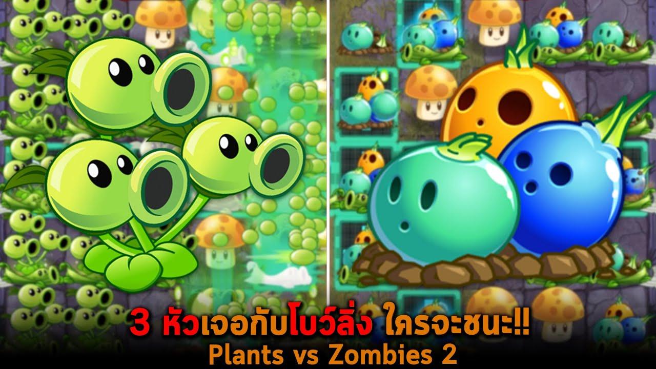 3 หัวเจอกับโบว์ลิ่ง ใครจะชนะ Plants vs Zombies 2